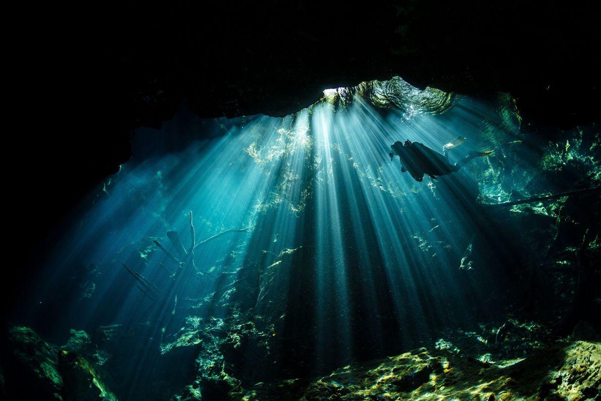 Rayos subacuáticos