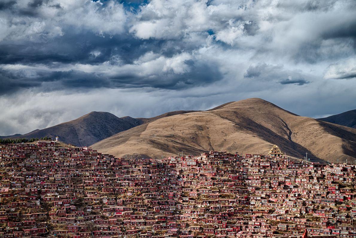 Casas en las laderas