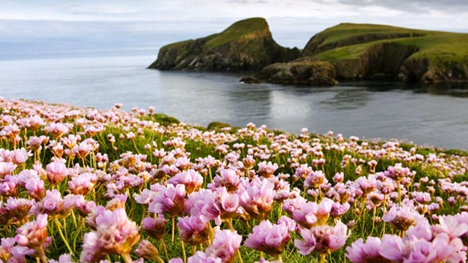 Isla Fair, Escocia