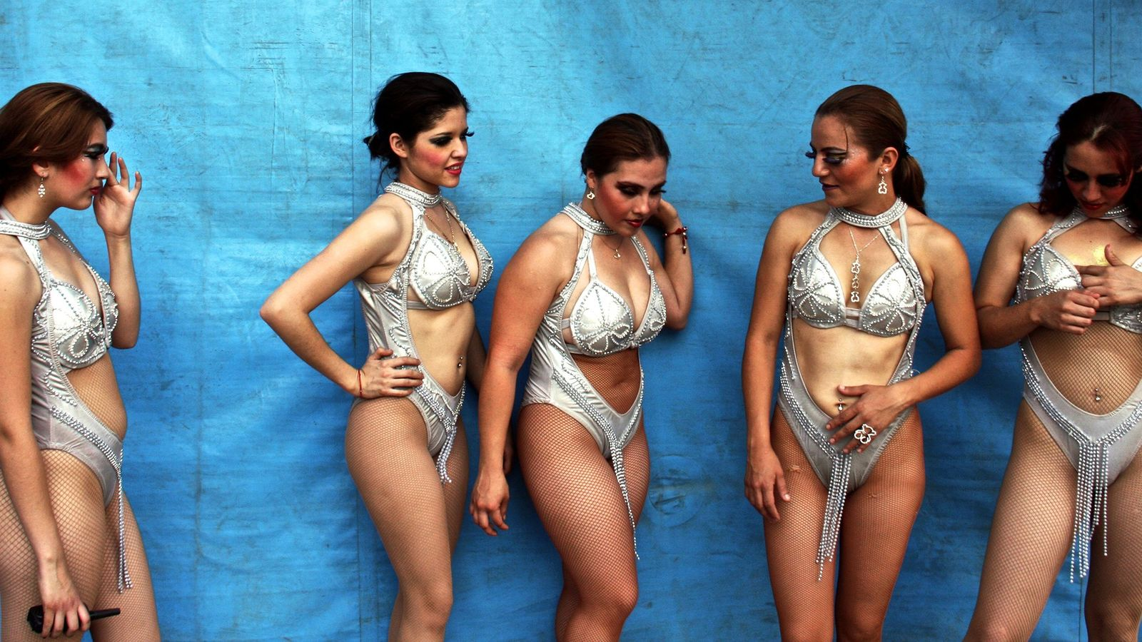 Bailarinas de circo, México