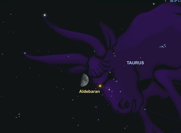 La estrella Aldebarán