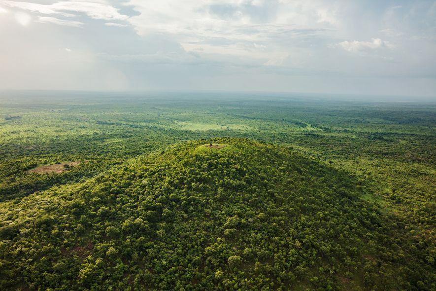 Parque nacional de Garamba, RDC: Las vastas zonas de bosque y sabana de Garamba son tan ...