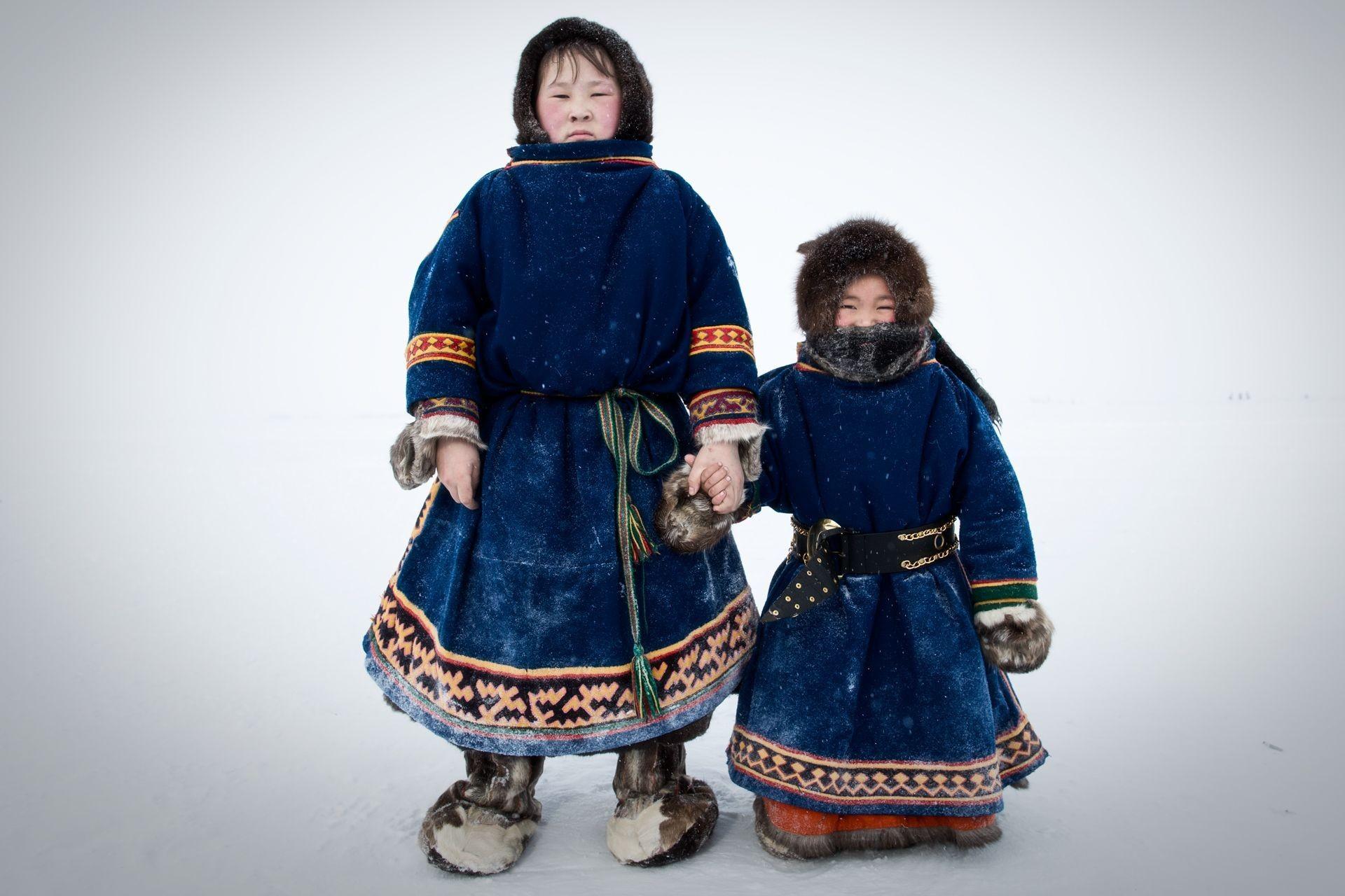 Niños en la tundra