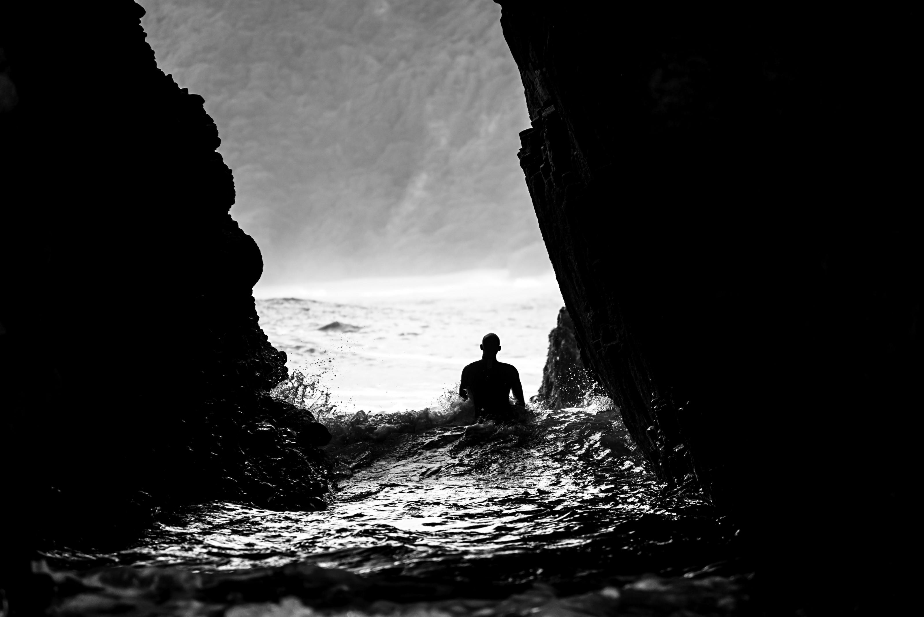 El atajo del surfista