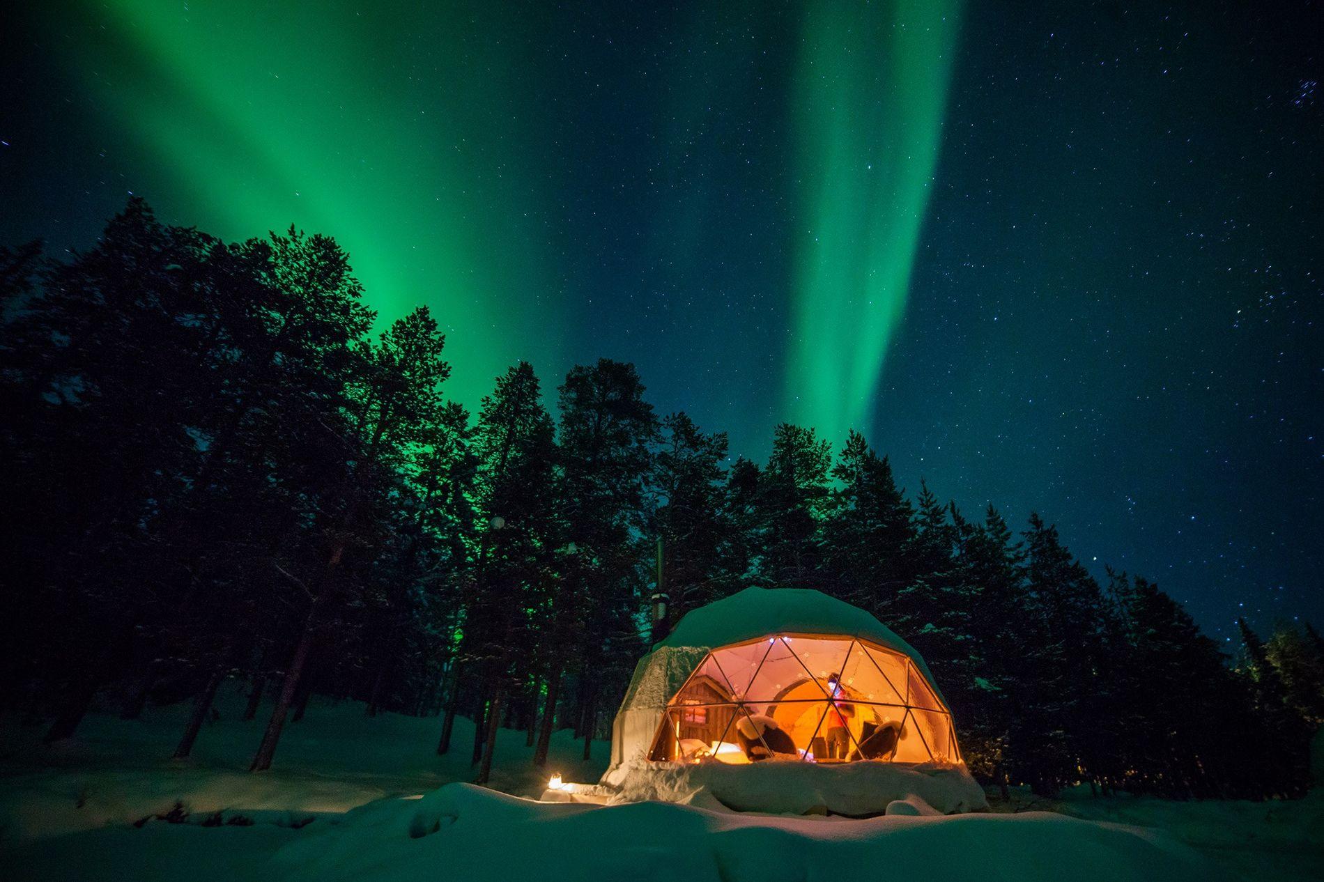 Harriniva Aurora Dome