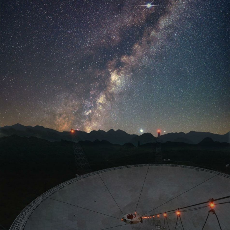 Detectan por primera vez una misteriosa ráfaga rápida de radio en la Vía Láctea