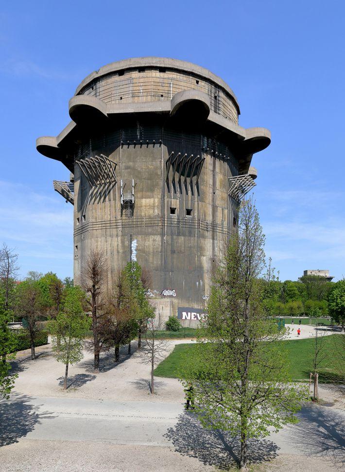 Torre antiaérea en Viena