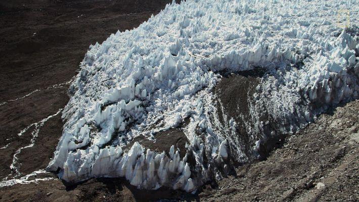 Sobrevolando el hielo