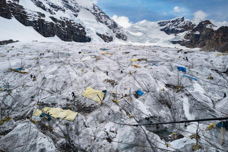 Glaciar La Bella Durmiente