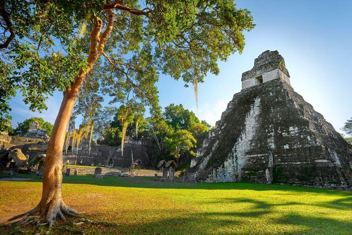 Templo del Gran Jaguar, Tikal