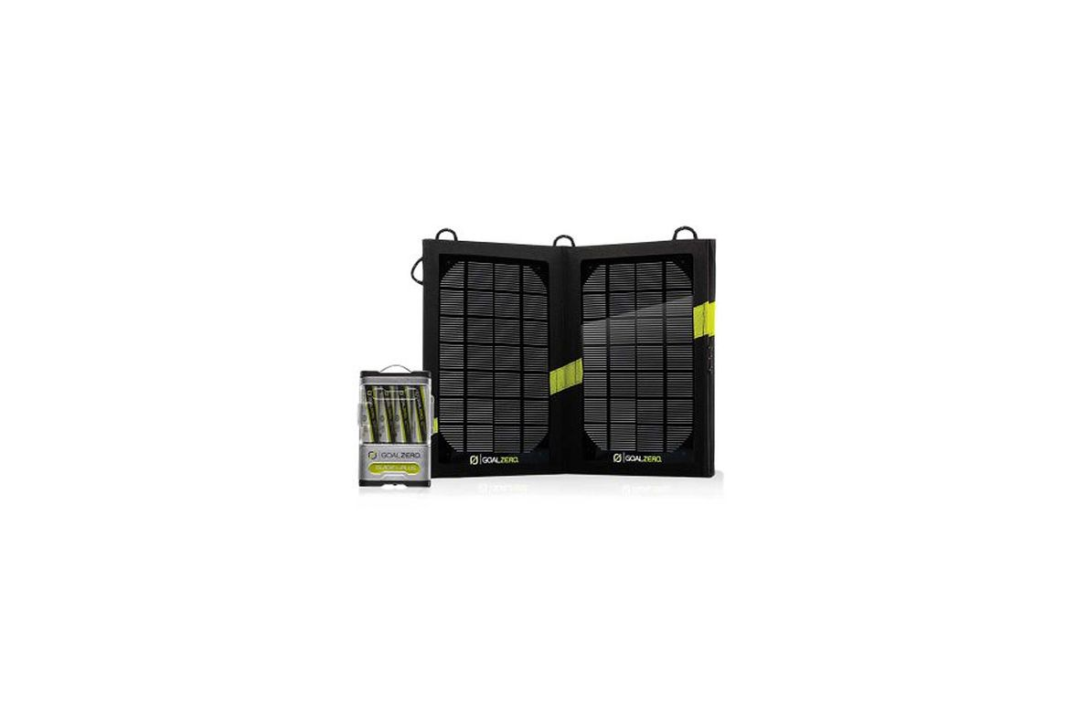 Kit solar fotovoltaico Guide 10 Plus de Goal Zero
