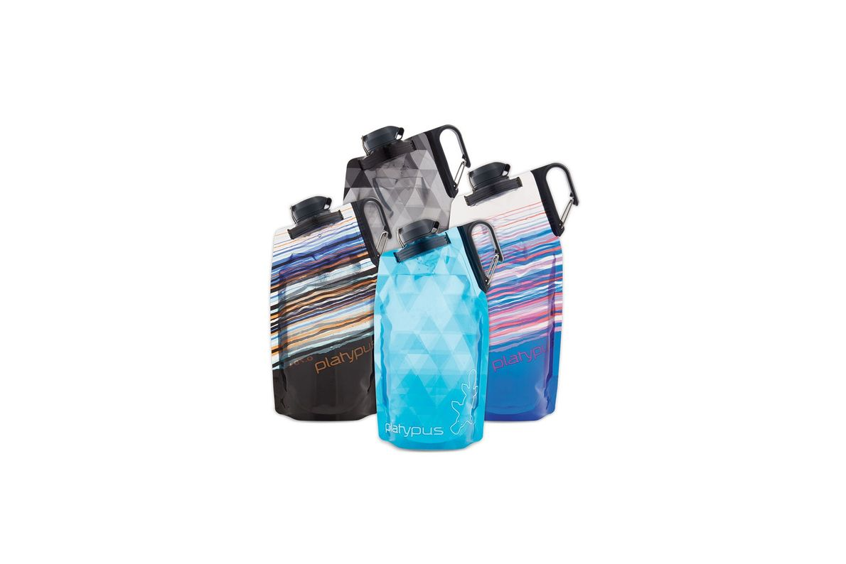 Cantimplora flexible Duolock Softbottle, de Platypus