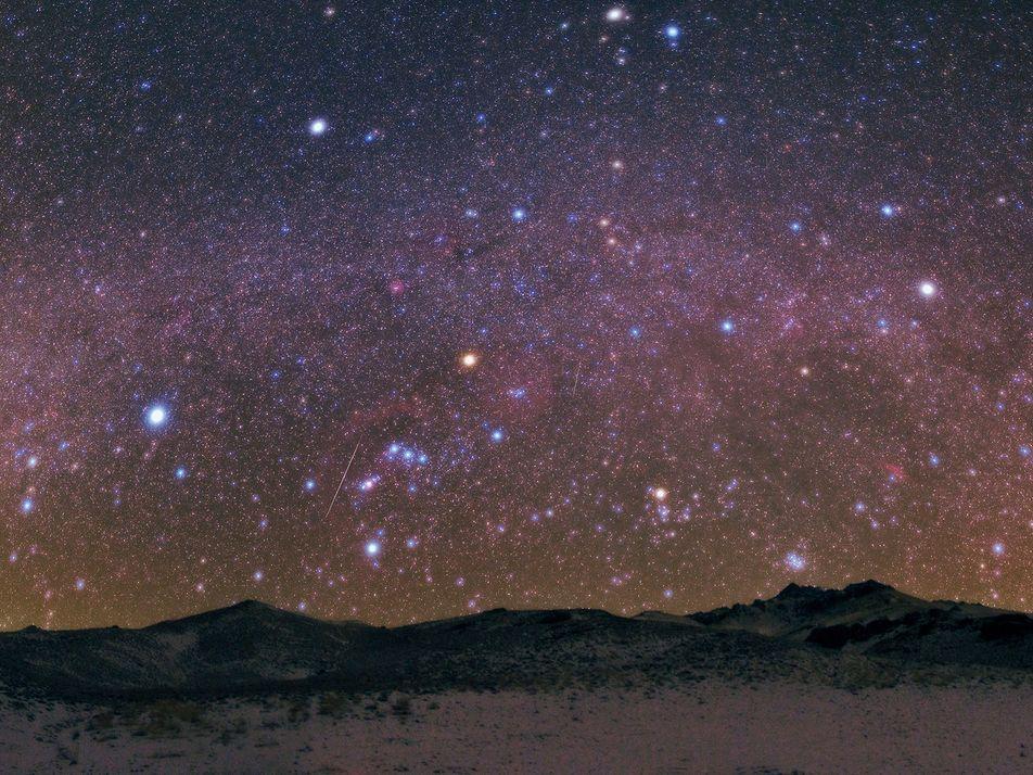Los fenómenos astronómicos que no te puedes perder en diciembre