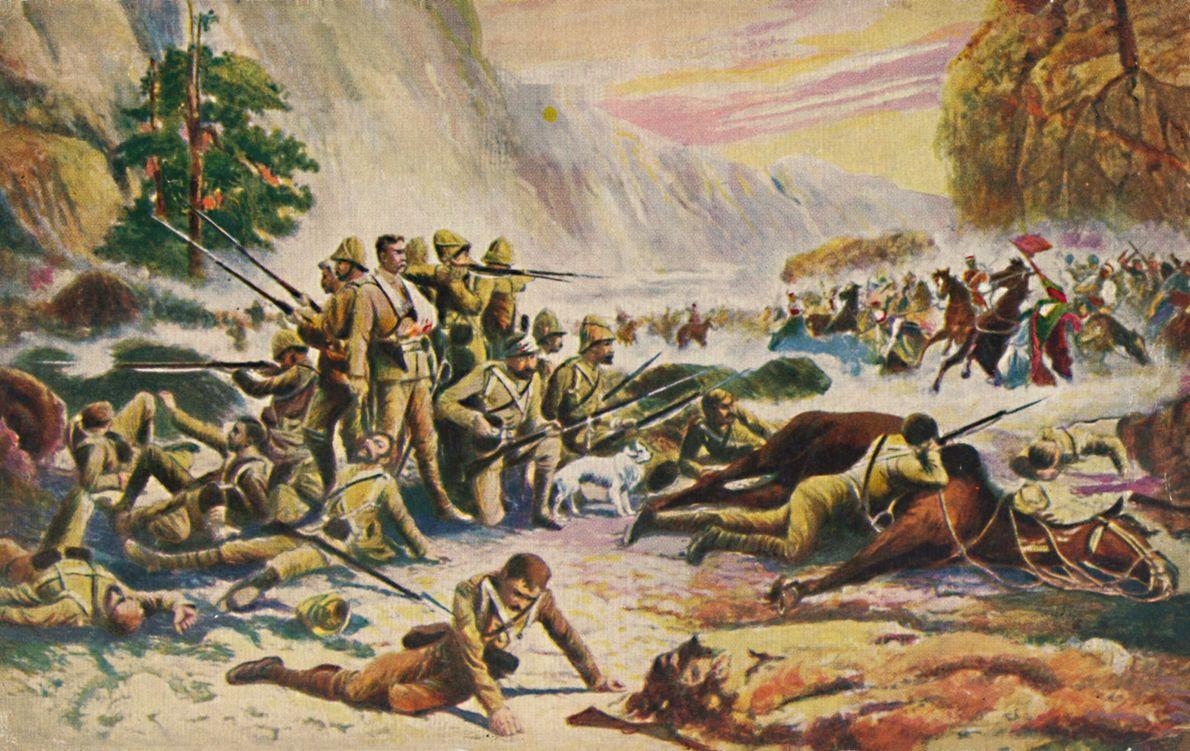 El regimiento de los Royal Berkshire y su 'heroica' resistencia en Maiwand