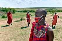 Intérpretes culturales en la reserva nacional de Masái Mara