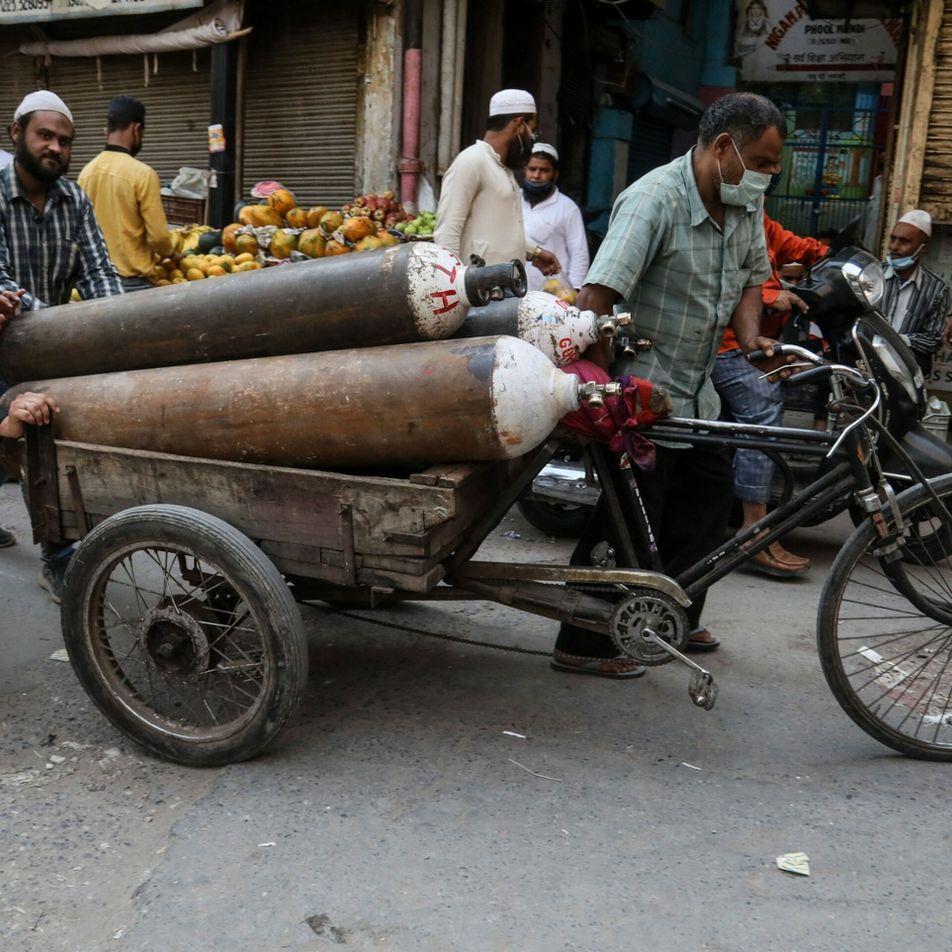 La crisis de la India demuestra que el oxígeno es un tratamiento esencial al que no ...