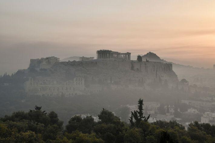 La acrópolis ahumada