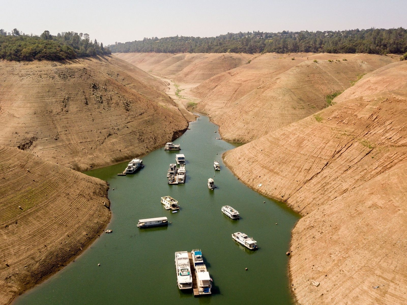 Efectos de la sequía en California