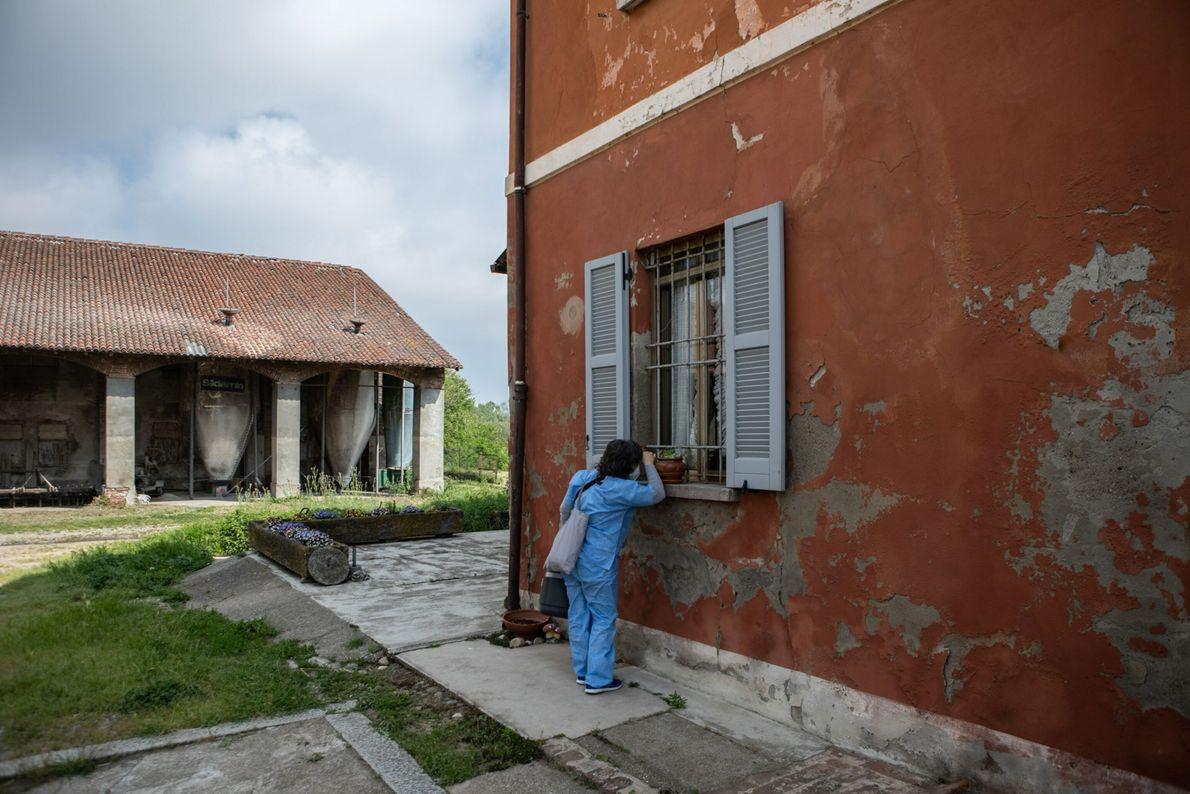 Campaña de vacunación puerta a puerta en Italia