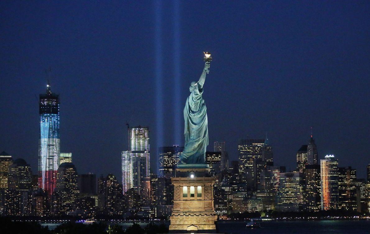 Nueva York celebra el 11º aniversario de los ataques del 11-S