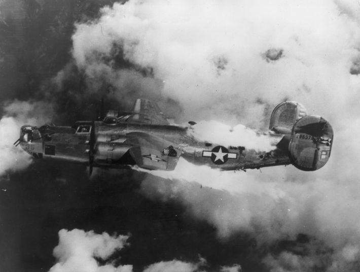 Un B-24 condenado
