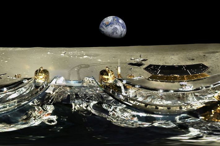 Misión Chang'e-3 a la Luna