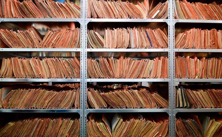 Archivo de la Stasi en Alemania