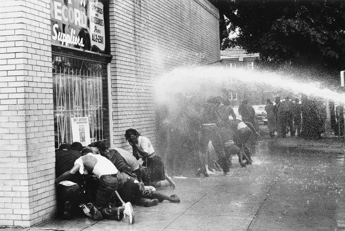Protesta en Birmingham, Alabama
