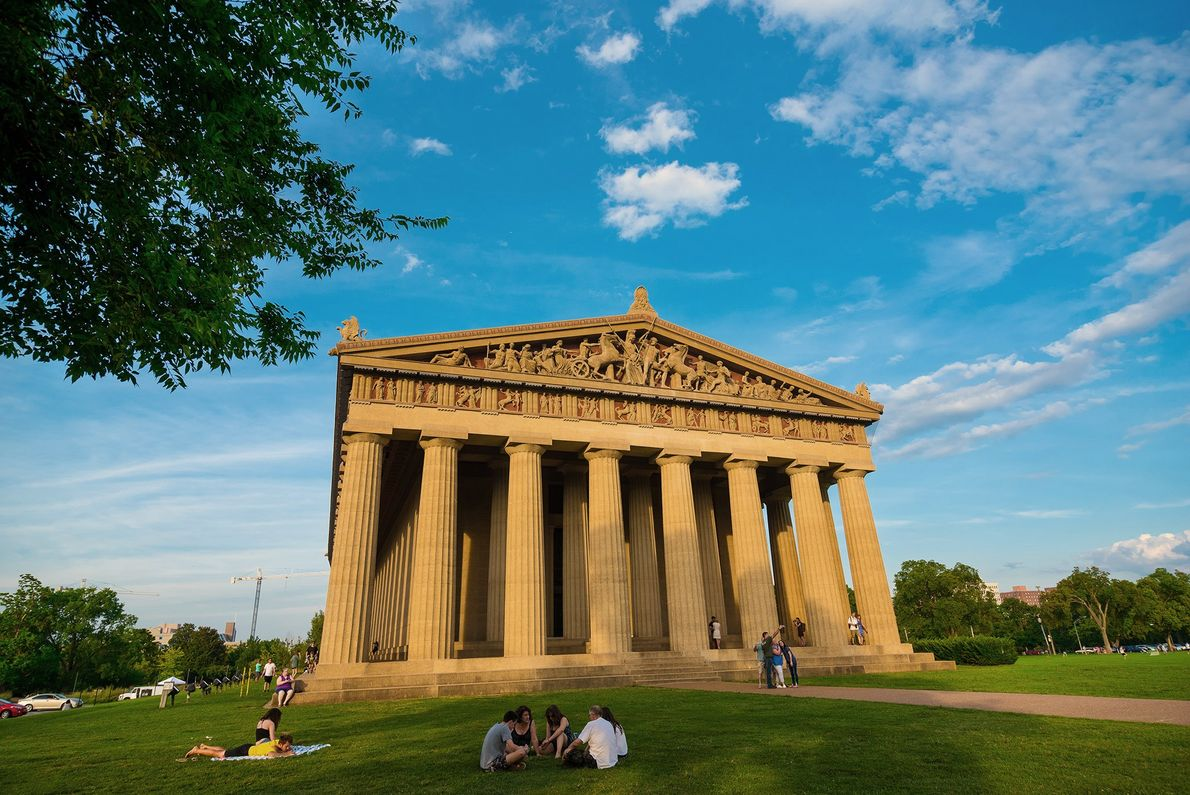 Presiding over Nashville's Centennial Park (recently immortalized in song by Taylor Swift), the Parthenon is a ...