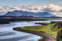 Fotografía de un paisaje de Islandia