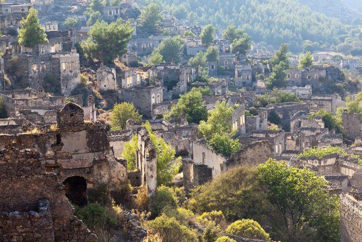 Kayaköy, Anatolia, Turquía