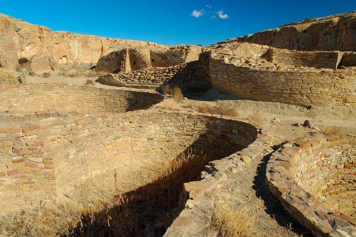Cañón del Chaco, Nuevo México, Estados Unidos