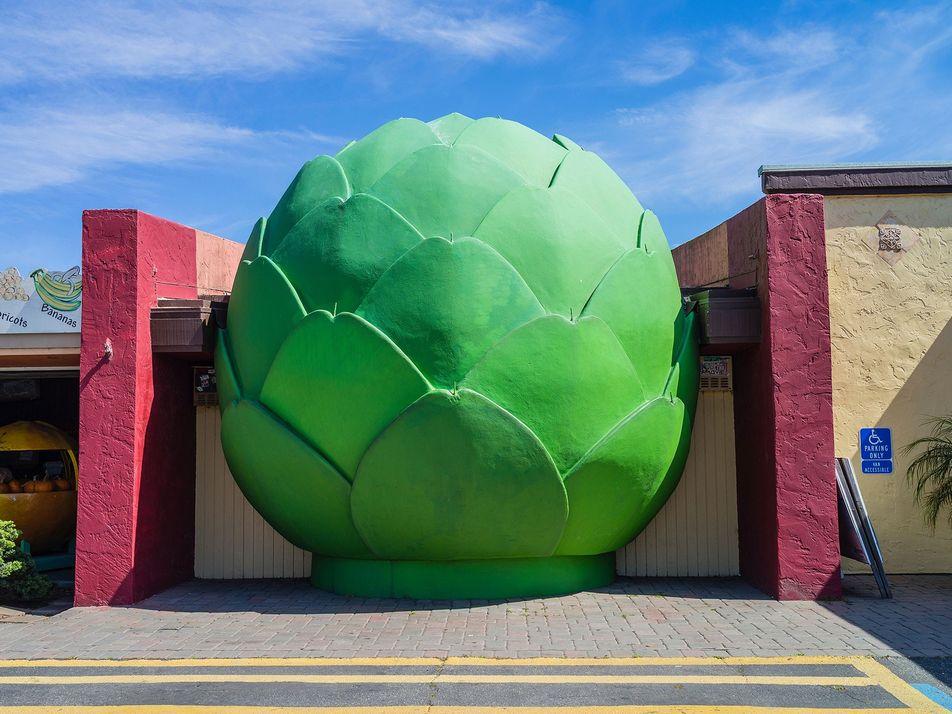 La alcachofa más grande del mundo y otros alimentos gigantes