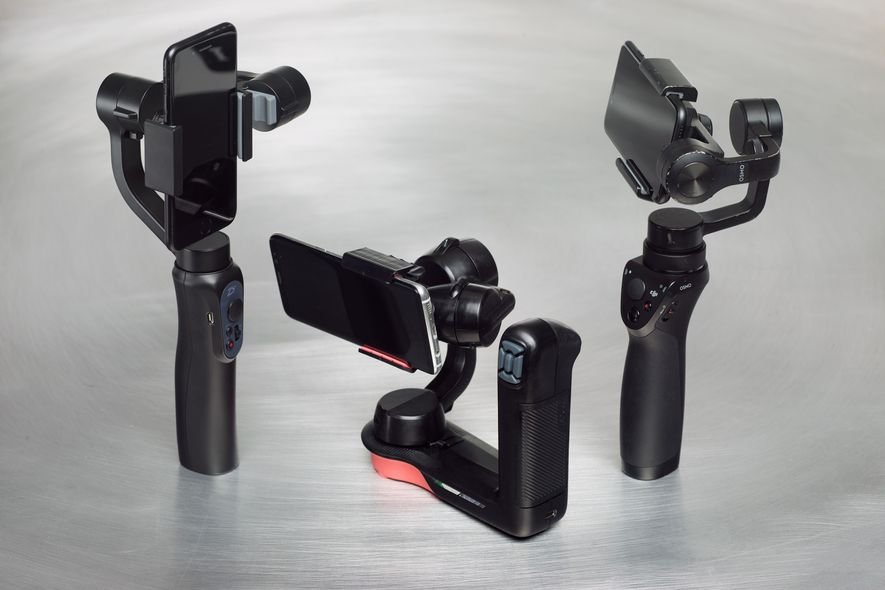 Estabilizadores de vídeo para teléfonos móviles.