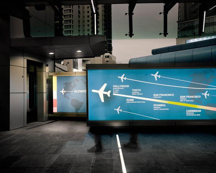 Imagen de patrones de vuelo