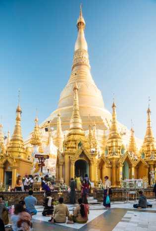 Pagoda deShwedagon