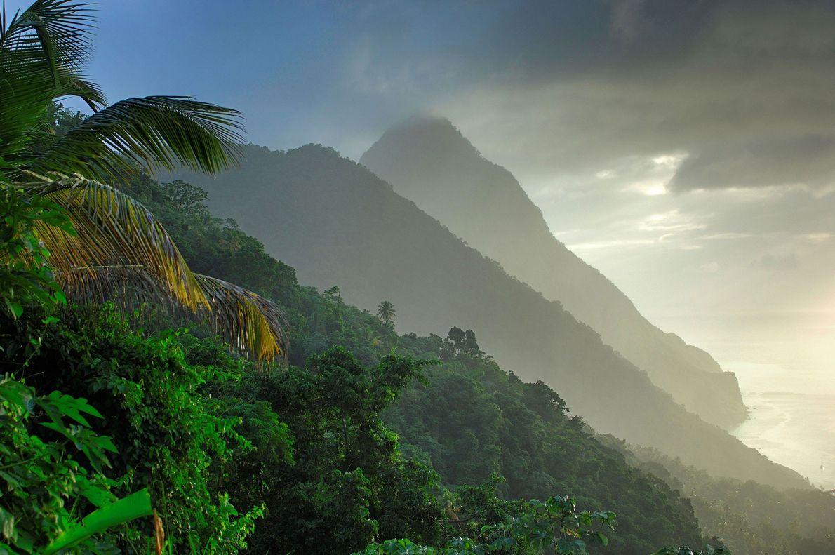 Montañas Pitons