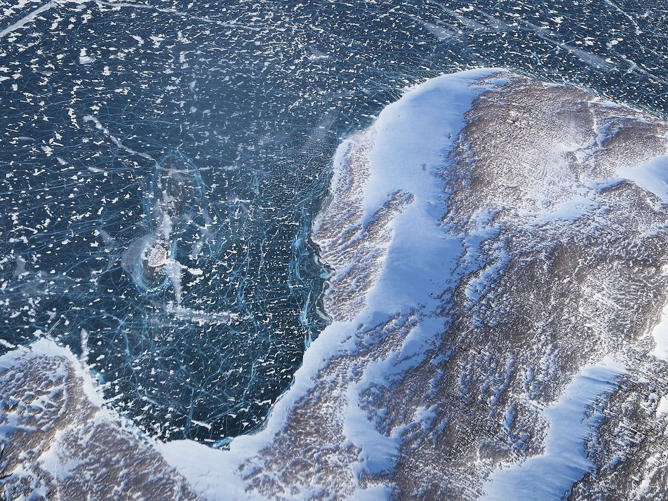 La formación de losas de hielo en Groenlandia, una amenaza para el nivel del mar