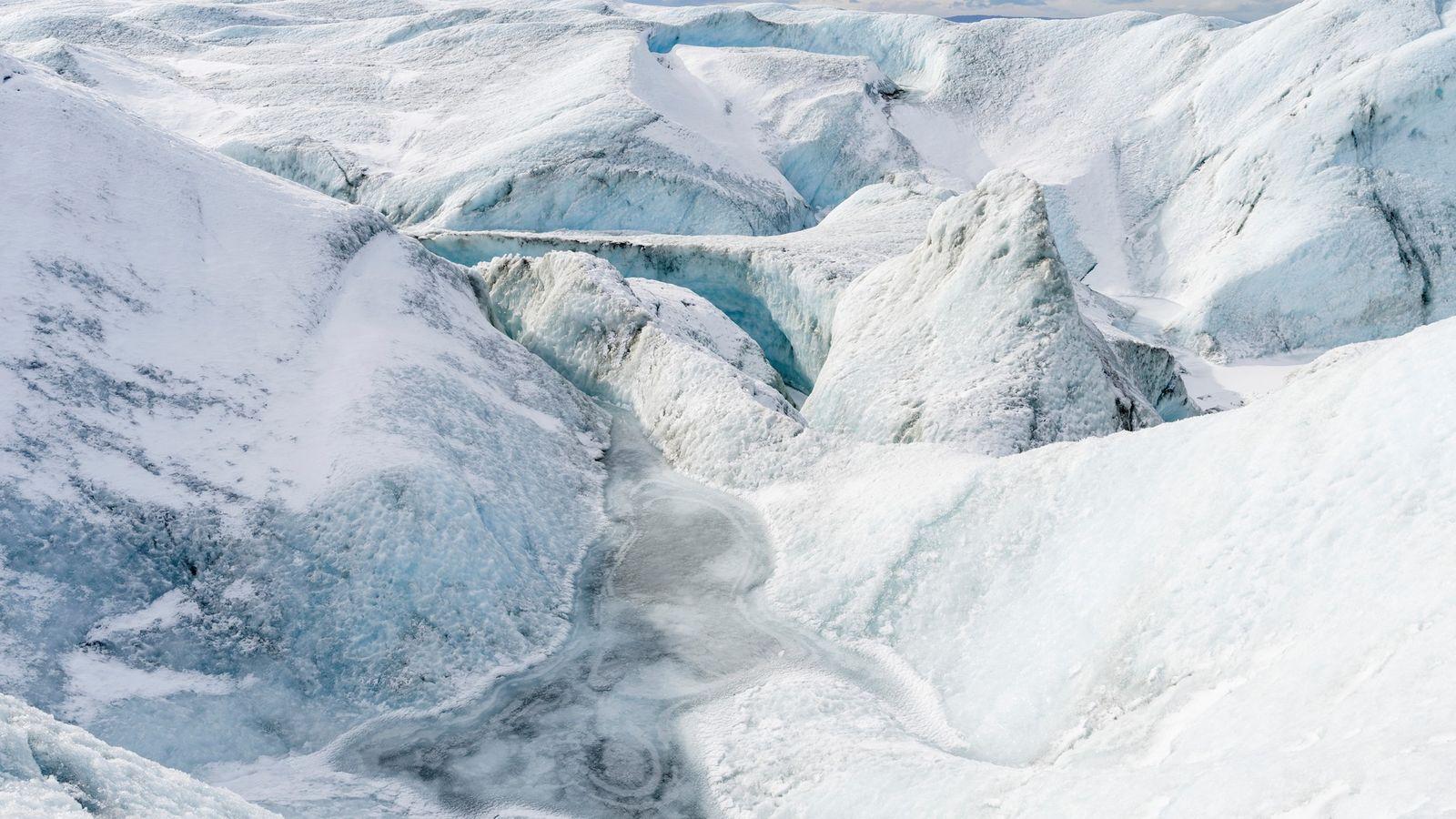 Manto de hielo de Groenlandia