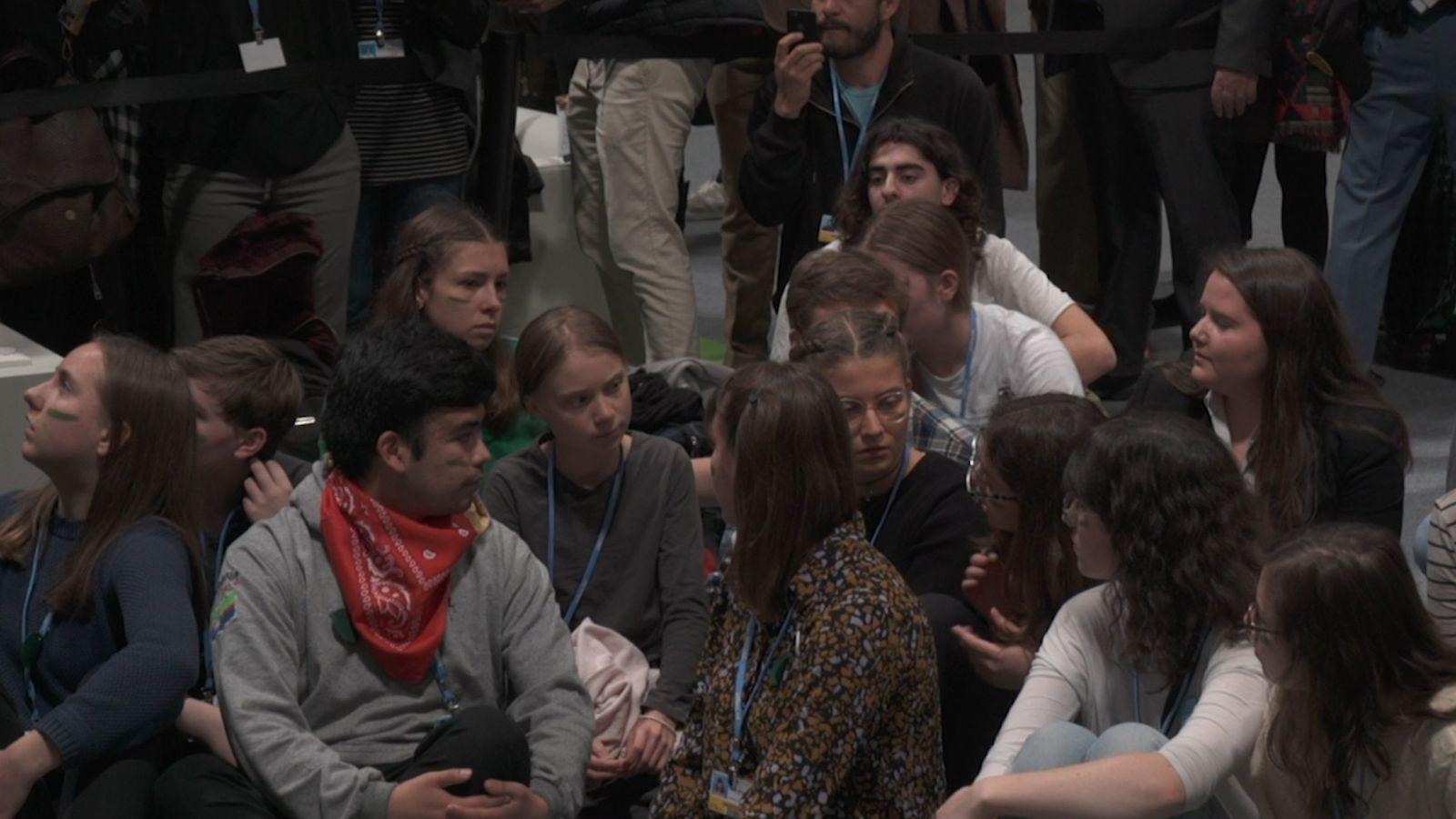 Greta Thunberg Fridays for future Madrid