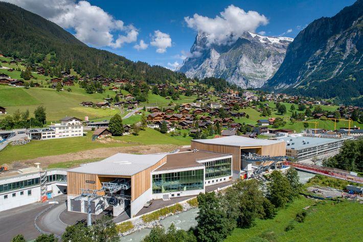 Estación del Eiger Express en Grindelwald