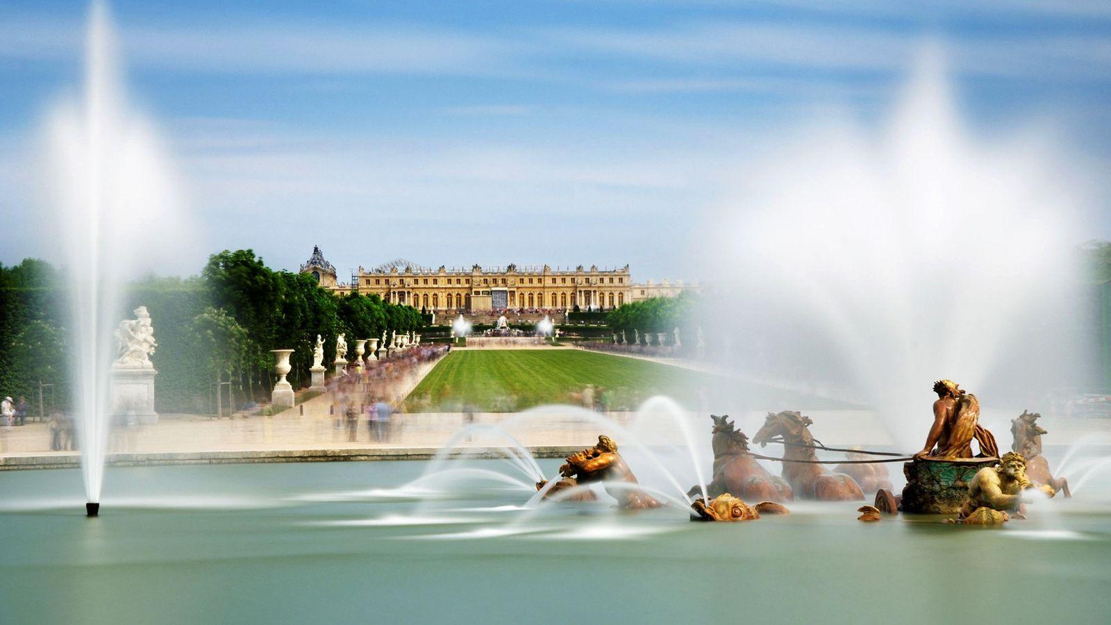 Fuente de Apolo en Versalles
