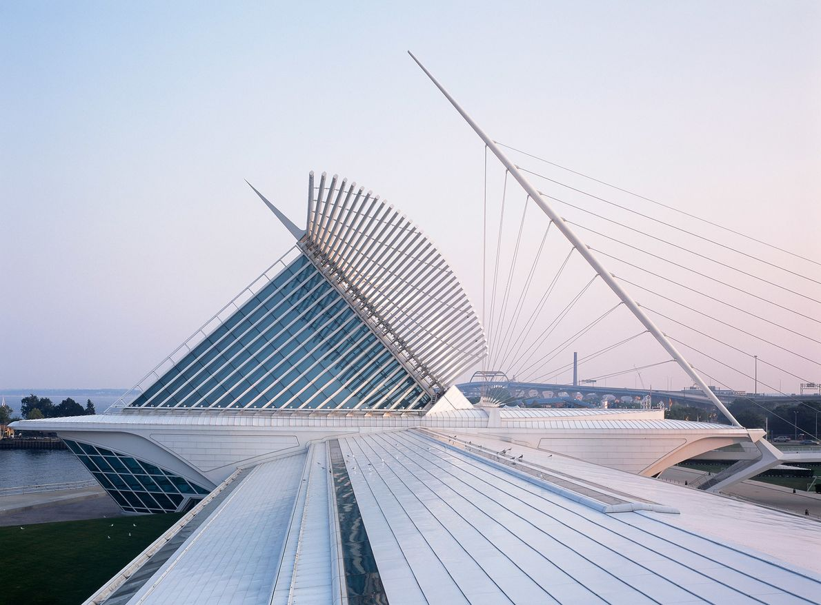 A feathery mélange of cables and curves, the Wisconsin attraction holds more than 30,000 creations and ...