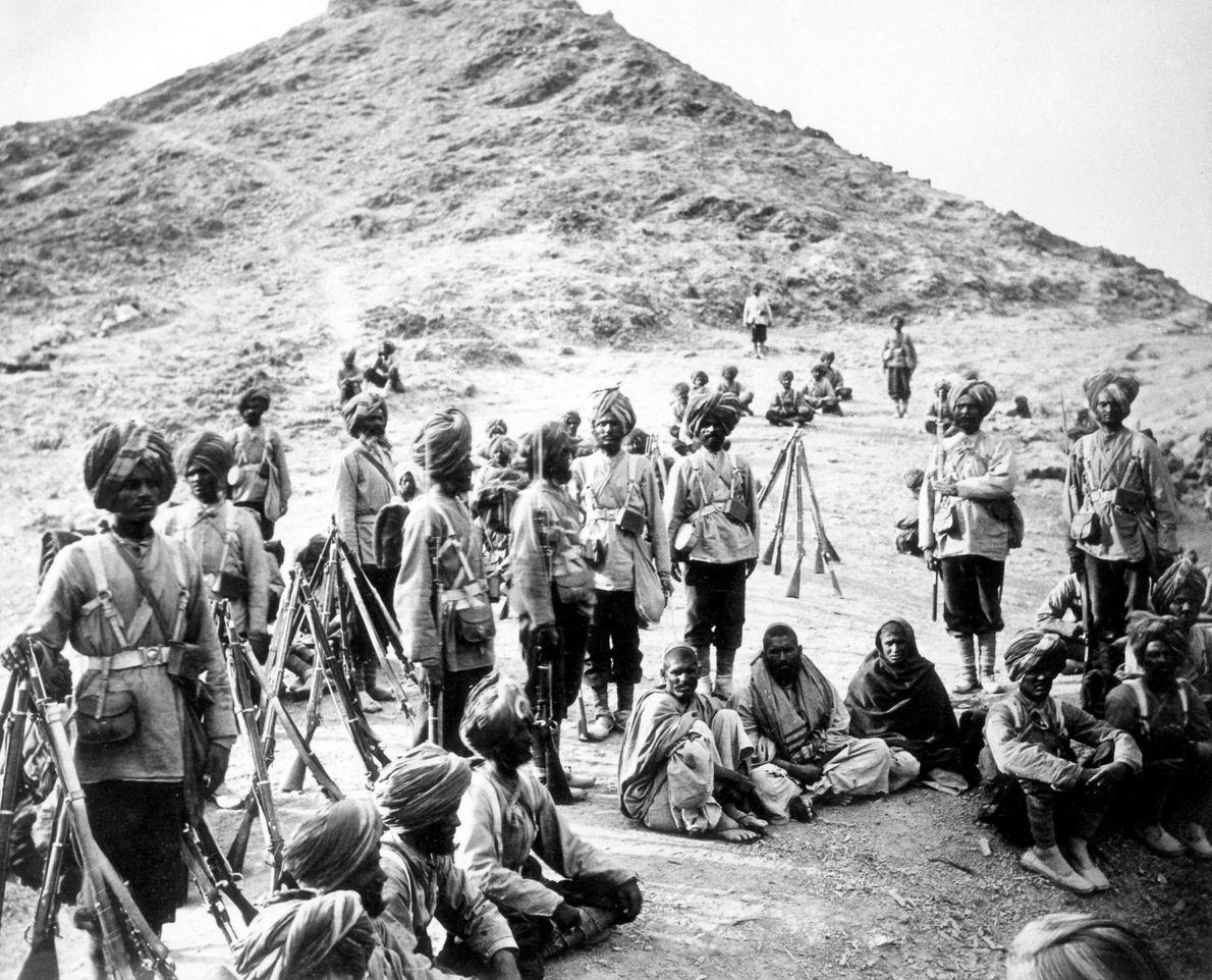 Cuando los británicos invadieron Afganistán