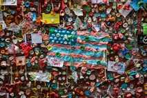 Gum Wall de Seattle