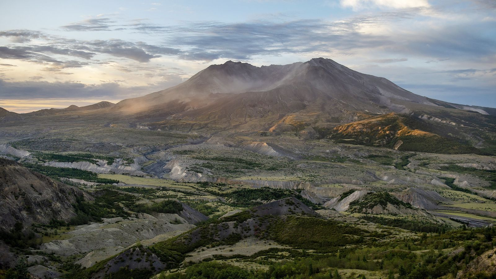 Cráter del monte santa Helena