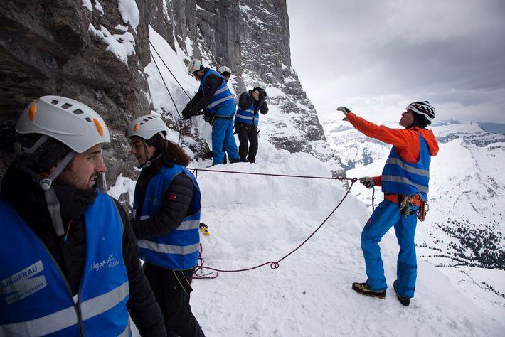 Punto de acceso para el Ferrocarril de la Jungfrau