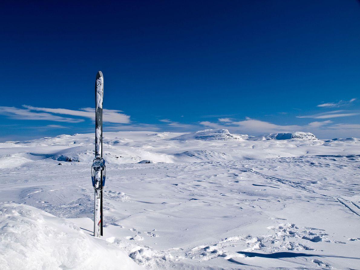 Glaciar Hardangerjøkulen, Noruega