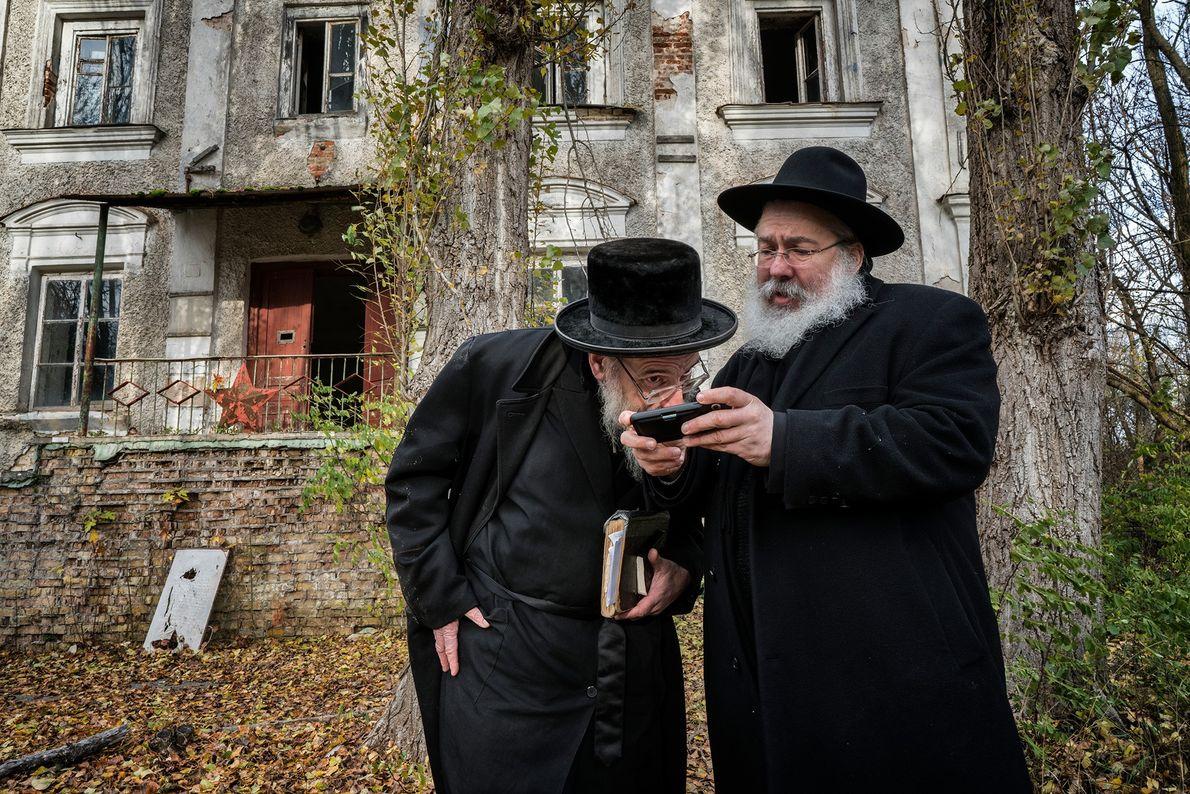 Yitz Twersky y Leibel Sirkes