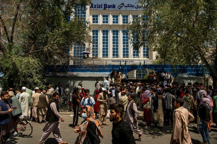 Las calles de Kabul antes de la llegada de los talibanes